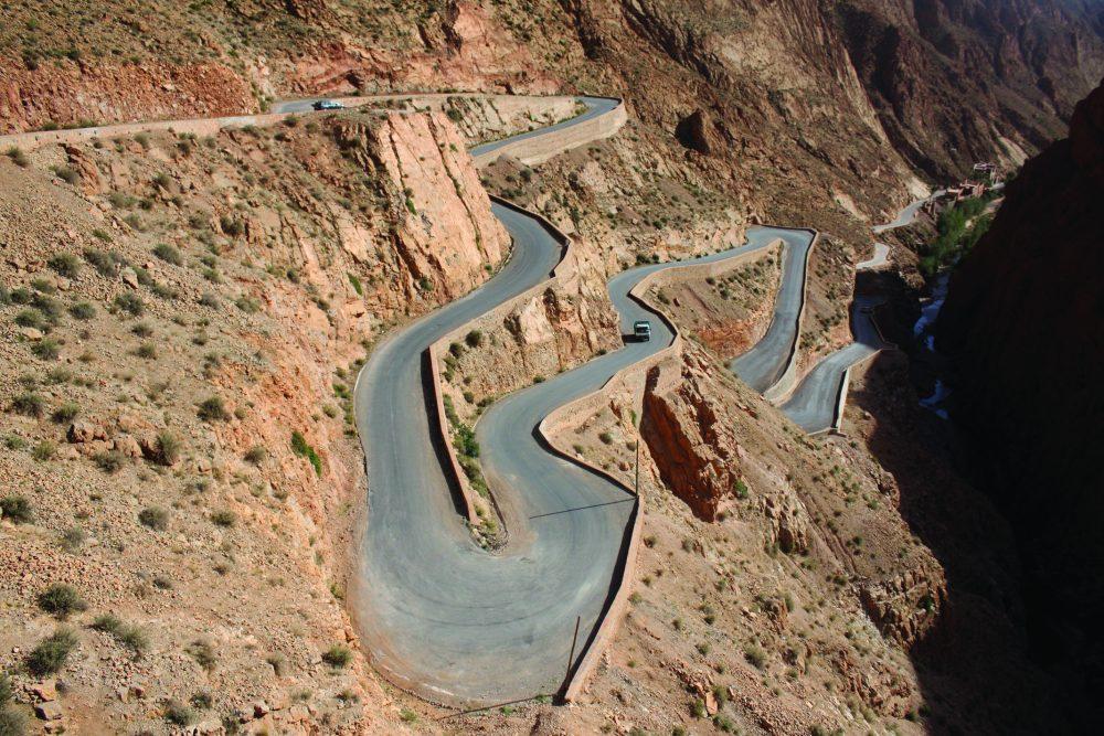 morocco dades gorge