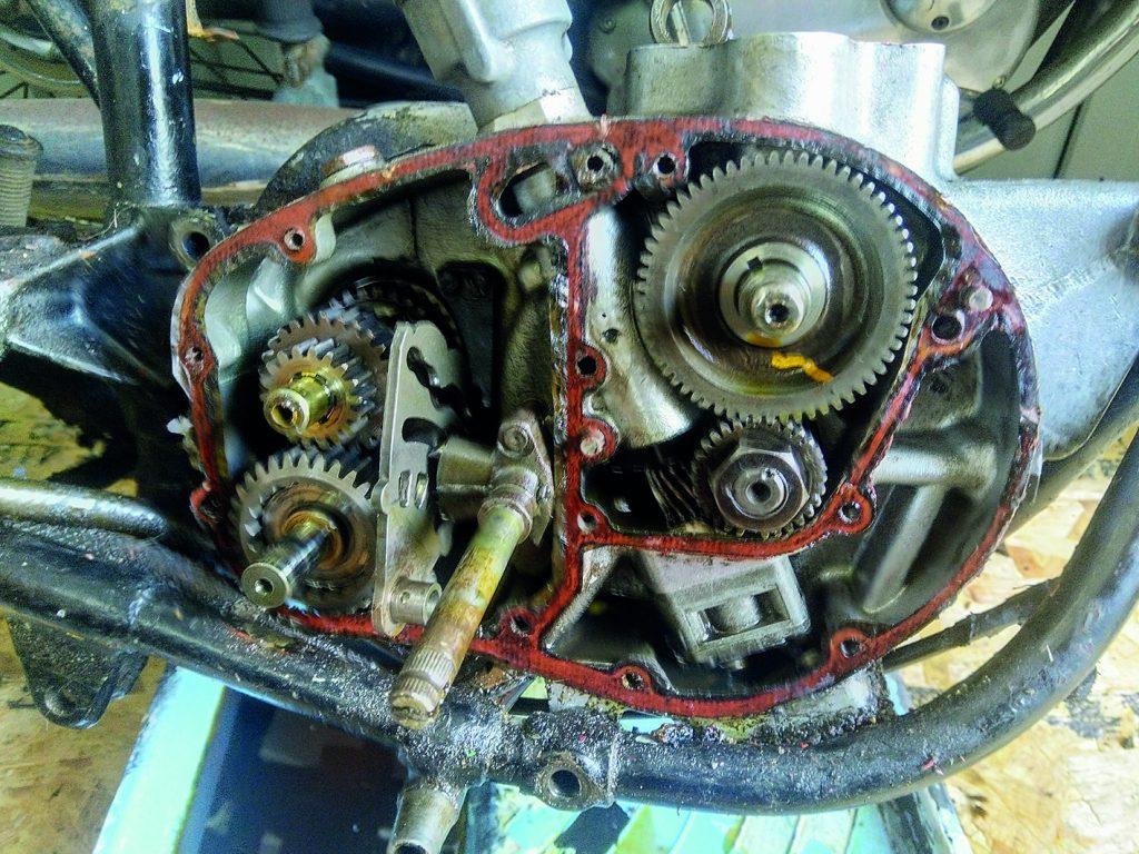 BSA C15 Inner Gearbox