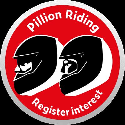 pillion rider course logo